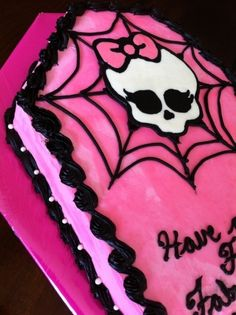 Monster High By Mrs_Monte on CakeCentral.com
