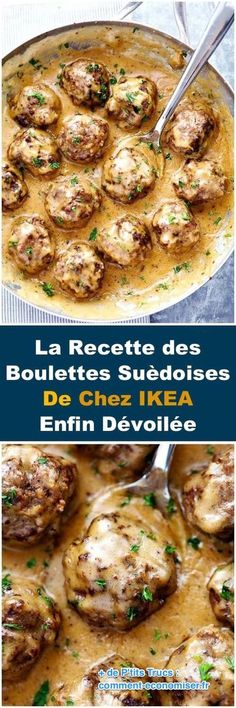 Making this for dinner! The Best Swedish Meatballs are smothered in the most amazing rich and creamy gravy. The meatballs are packed with such delicious flavor you will agree these are the BEST you have ever had! Beef Dishes, Food Dishes, Main Dishes, Meat Recipes, Cooking Recipes, Recipies, Recipes Dinner, Hamburger Recipes, Oven Recipes