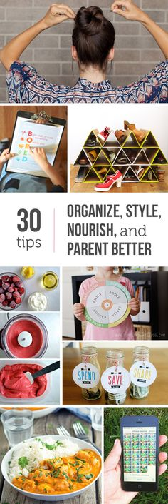 So many great ideas here - can't wait to try that 5 minute hair and the crock pot marsala this week!