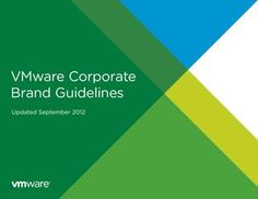 #vMware corporate #brand guidelines