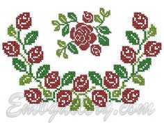 """""""Roses and Buds""""_Neck (Gift with Purchase)"""