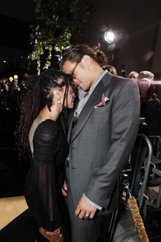 Jason Momoa & his beautiful, lucky wife Lisa Bonet Lenny Kravitz, Aquaman, Black Celebrities, Celebs, Jason Momoa Lisa Bonet, Trend Fashion, Hollywood, Future Wife, Couples In Love
