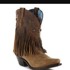 382dbad4b88 Dingo Fringe Leather Boots In Black Fringe Ankle Boots