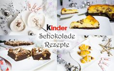 4 fantastische Rezepte mit kinder Schokolade und eine tolle Aktion