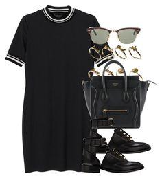 """""""Style #10084"""" by vany-alvarado ❤ liked on Polyvore featuring Monki, ASOS, Balenciaga and Ray-Ban"""