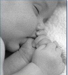 Precious angel ... love it when they suck their thumb ♥
