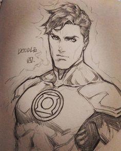 k_axani Hal Jordan Green Lantern