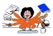 Overzicht houden, initiatief nemen en zelfstandig werken is een pré voor een secretaresse of assistente en is iets wat ik goed kan.
