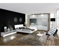 chambre avec lit capitonn canila c chambre - Photo De Chambre Moderne