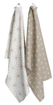 Kjøkkenhåndkle BERGFLETTE 50x70 2 stk