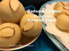Collection of Easy and Quick Laddoo Recipes – Food, Fitness, Beauty and More Easy Indian Dessert Recipes, Indian Desserts, Indian Sweets, Indian Food Recipes, Easy Ladoo Recipe, Laddoo Recipe, Recipe For Mom, Recipe Using, Blanched Almond Flour