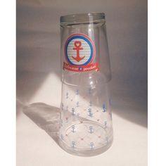 Moringa linda pra deixar na mesa de estudos ou do trabalho. De vidro, deixa a água fresquinha! - loja finé - www.lojafine.com