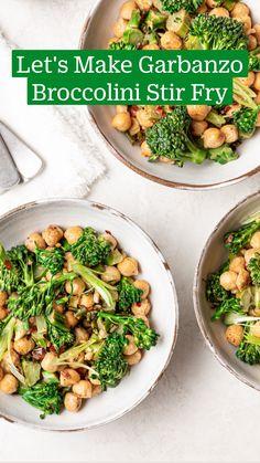 Healthy Menu, Healthy Meal Prep, Healthy Cooking, Cooking Recipes, Healthy Stir Fry, Vegan Dinner Recipes, Vegan Recipes Easy, Vegetarian Recipes, Bowls
