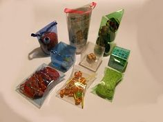 Boxes from plastic bottles (soda bottles), 3 different styles. (site is in Spanish, but has photo directions)