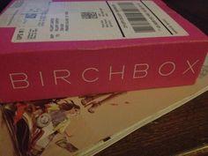 First Birchbox!