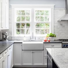 Carrera Marble Backsplash Soapstone Design Ideas, Pictures, Remodel and Decor