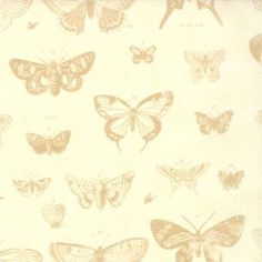 Papillon, Ivory, 4070 11.  By 3 Sisters for Moda Fabrics