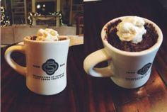 Hot Chocolate Mug Cake (Egg Free)
