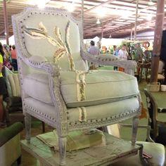 Shawna Robinson, happy chair