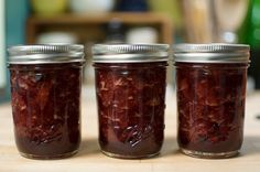 Small Batch Strawberry Balsamic Jam made LIVE through #ConcertWindow in @FoodinJars kitchen!