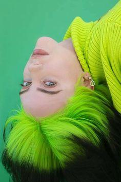 Billie Eilish, Red Aesthetic Grunge, Aesthetic Girl, Aesthetic Vintage, Disney Cartoons, Poses, Foto Portrait, New York Times Magazine, Fan Art