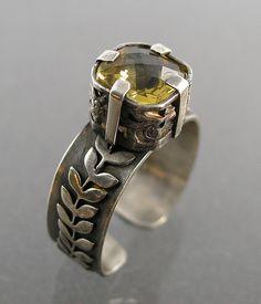 Nancy L T Hamilton: Whiskey Quartz Ring | Flickr - Photo Sharing!