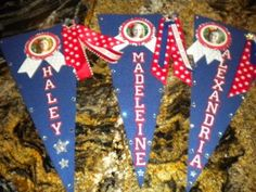 Poms Locker Signs... omg they're tuslaw colors and 1 says my name ...