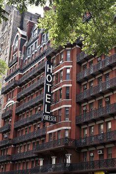Mykonos, Santorini, Chelsea Hotel, Chelsea Nyc, New York Landmarks, Ville New York, A New York Minute, New York Architecture, I Love Nyc