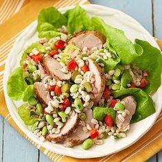 Pork-Barley Salad