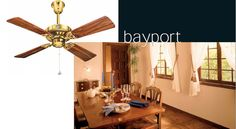 Usha Hunter Fan has come out with a wide range of stylish and designer fans which is compatible with our beautiful home. Usha has introduced new designer fans, Hunter Bayport Designer Ceiling Fan, consisting of wooden blades that suit our luxurious furniture. So now we can give our home a new looks and make it more eye-catching.