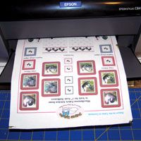 Printing on Fabric Minis Tutorial