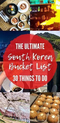 The ultimate South Korea bucket list, with 30 awesome things to do around the country, focusing on local favourites that promise an authentic travel experience! South Korea Travel, Asia Travel, Stuff To Do, Things To Do, Asia City, Solo Travel Tips, Cultural Experience, Awesome Things, Good Food