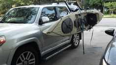 Originally Posted by The problem is that my kayak weighs over 65 pounds, and probably more when wet and has gear on it. 2010 4runner, Toyota 4runner, Boating, Kayaking, Aqua, Car, Kayaks, Water, Automobile