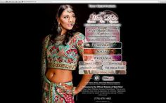 The Events By Mete'Dela Website Creation
