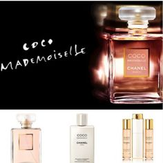 Coco Mademoiselle by Chanel. There's a whole range of bath and skincare products in the same scent that allow for a greater depth of fragrance and will make the scent last longer when worn together. Makes for a great Christmas present!