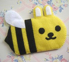 Bzz Bzz. Is that my phone vibrating or is it this cute little rabbit/bee?