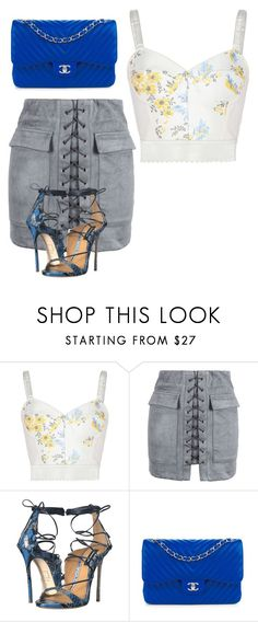 """""""Untitled #346"""" by alexis1501 on Polyvore featuring STELLA McCARTNEY, WithChic, Dsquared2 and Chanel"""