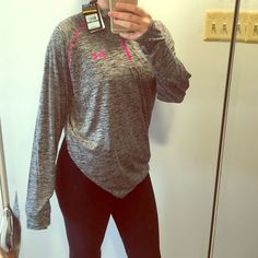 Light weight Under Armour long sleeve Never worn; size large Under Armour Sweaters