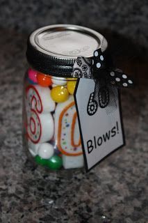Christy- cute gift idea for 60th bday or any bday with candles and gum