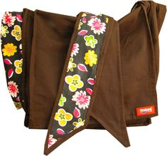 DIY Pattern | Onbag Be sure to click on instructions -how to use this to carry child