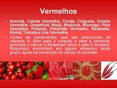 Alimentos e dicas de saúde!