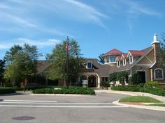 The clubhouse in Rolling Hills at Lake Asbury