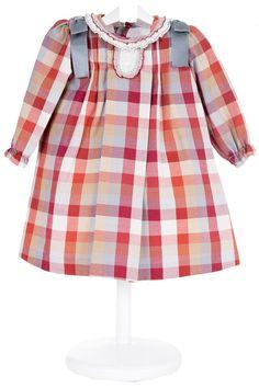 Vestido Cuadritos - demelocoton.com