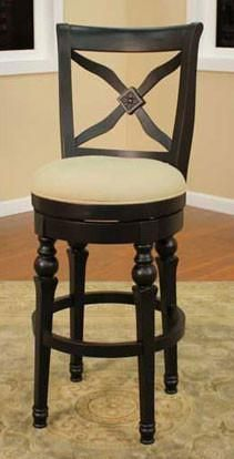 American Heritage Swivel Livingston Bar Stool 30H (130787AB-C08)