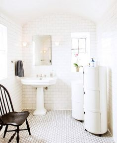 107 Best White Bathroom Tile Images In 2019 Bathroom Bathroom