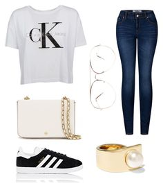 """Kendall Jenner"" by gretamaeve ❤ liked on Polyvore featuring Givenchy, Calvin Klein, 2LUV, adidas and Tory Burch"