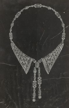 A retrouver dans l'album Bijouterie. Colliers. XXe siècle. Pays divers. A-Z. Maciet 119/4. #collier #collerette #colclaudine #diamants #platine #1930 #bijoux1930 #bijouxartsdecoratifs #bijouxanneesfolles #anneesfolles #collectionjulesmaciet #collectioniconographique #bibliothequeartsdecoratifs #bibliotheque #artsdecoratifs Bijoux Art Deco, Album, Inspiration, Jewelry, Roaring 20s, Turntable, I Don't Care, Necklaces, Biblical Inspiration