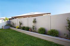 Slim Wall form Modular Walls Australia. Perfect fence for the pool