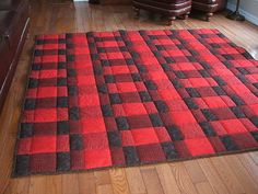 Plaid for Dad Quilt Pattern