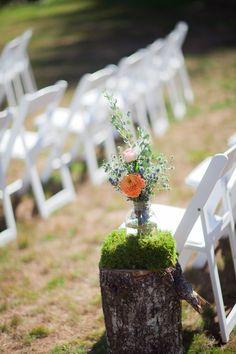 Photography: Jamie Zanotti Photography - www.jamiezanotti.com/  Read More: http://www.stylemepretty.com/2014/08/08/diy-oregon-mountain-wedding/
